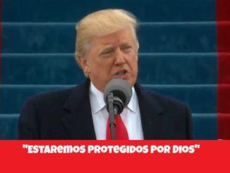 Donald Trump. Protegidos por Dios.
