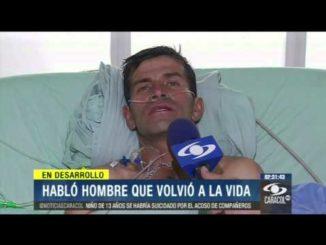 Javier Venegas el nuevo lazaro