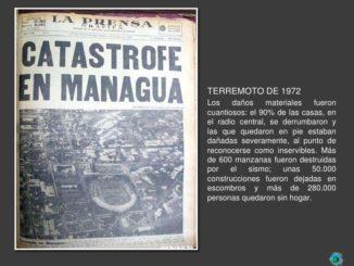 Nicaragua terremoto 1972