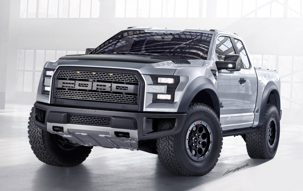 2018 Ford F150 Raptor Wallpaper Background